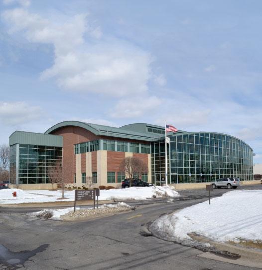 Extra Credit Union headquarters in Warren, Michigan